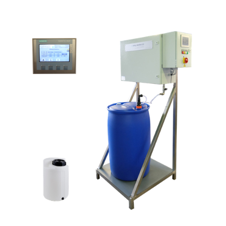微量噴涂供的配液和定量控制系統